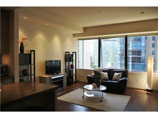"""Photo 2: # 801 1333 W GEORGIA ST in Vancouver: Coal Harbour Condo for sale in """"TH QUBE"""" (Vancouver West)  : MLS®# V1018251"""