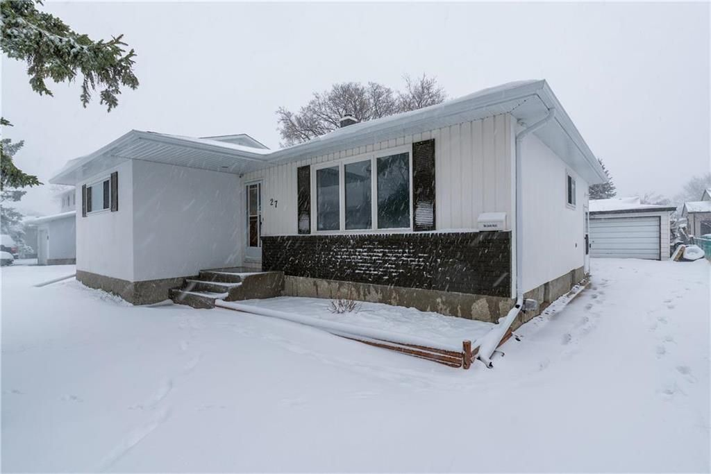Main Photo: 27 West Avenue in Winnipeg: Westwood Residential for sale (5G)  : MLS®# 202108564