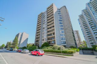 """Photo 1: 604 710 SEVENTH Avenue in New Westminster: Uptown NW Condo for sale in """"The Heritage"""" : MLS®# R2615379"""