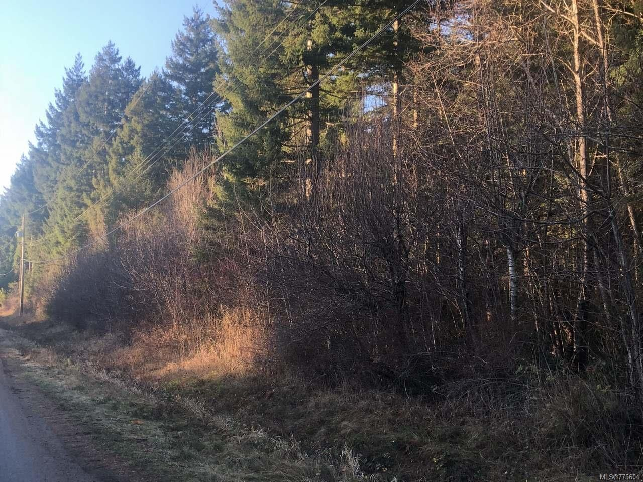 Main Photo: LT 1 Whitaker Rd in COURTENAY: CV Courtenay North Land for sale (Comox Valley)  : MLS®# 775604