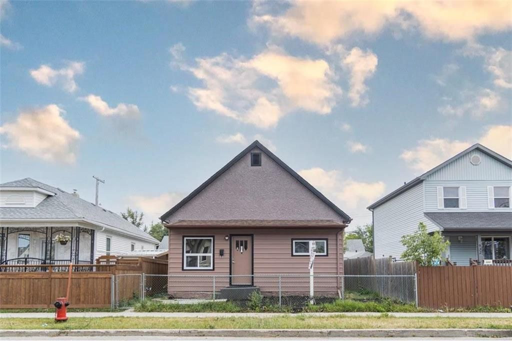Main Photo: 926 Burrows Avenue in Winnipeg: North End Residential for sale (4B)  : MLS®# 202120119