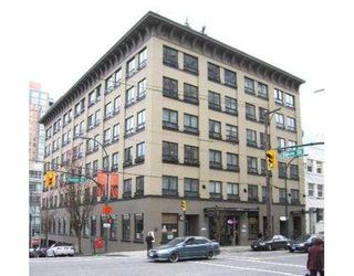 """Photo 2: 505 1216 HOMER Street in Vancouver: Downtown VW Condo for sale in """"THE MURCHIES BUILDING"""" (Vancouver West)  : MLS®# V643562"""