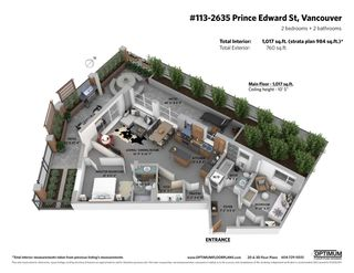 "Photo 22: 113 2635 PRINCE EDWARD Street in Vancouver: Mount Pleasant VE Condo for sale in ""SOMA LOFTS"" (Vancouver East)  : MLS®# R2472969"