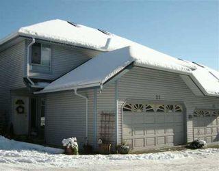 "Photo 1: 1355 CITADEL Drive in Port Coquitlam: Citadel PQ Townhouse for sale in ""CITADEL MEWS"" : MLS®# V622555"
