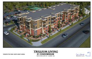 "Photo 1: 208 10688 140 Street in Surrey: Whalley Condo for sale in ""TRILLIUM LIVING"" (North Surrey)  : MLS®# R2613549"