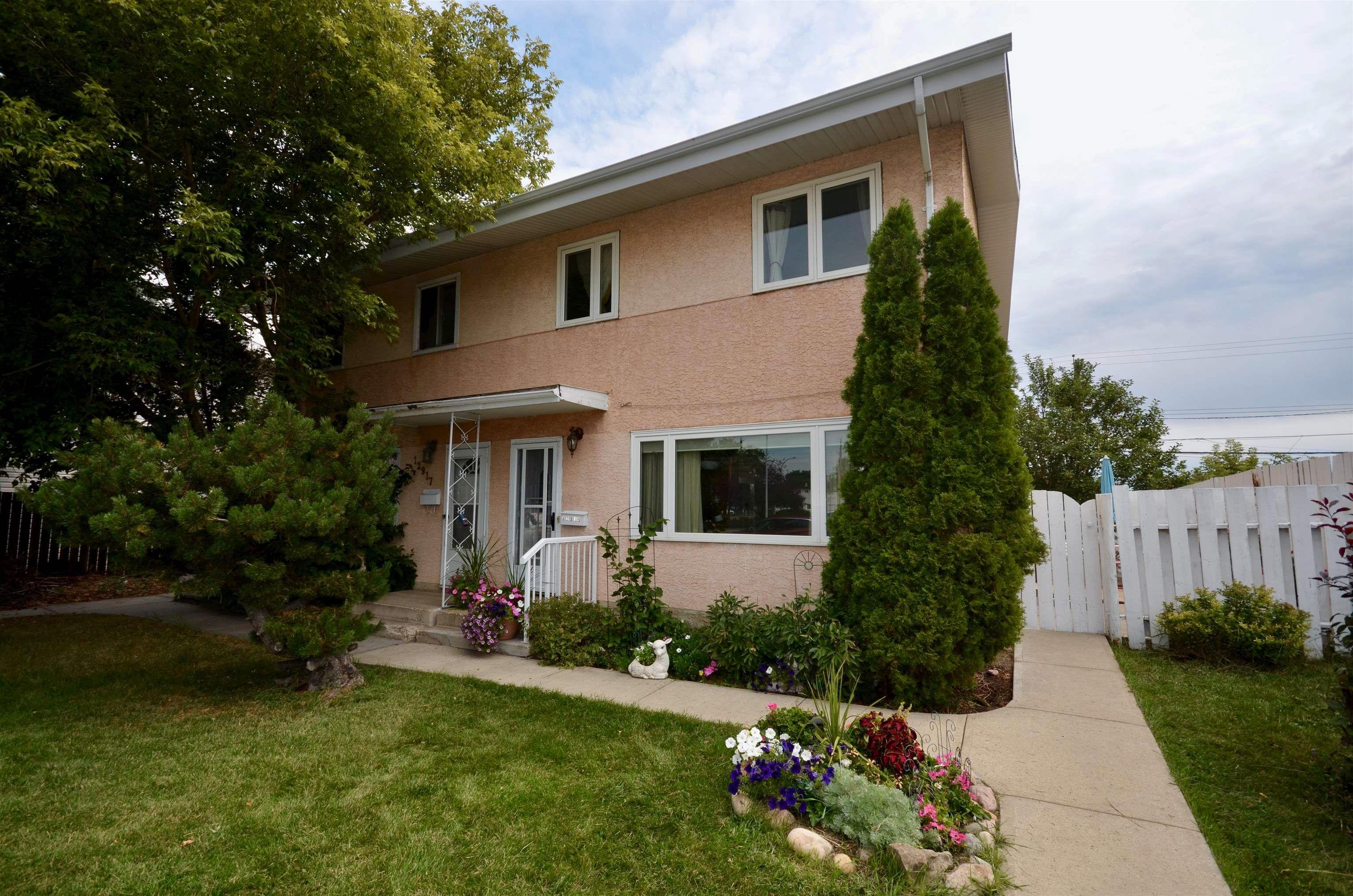 Main Photo: 12915 82 Street in Edmonton: Zone 02 House Half Duplex for sale : MLS®# E4260618