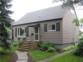 Photo 1: 321 CENTENNIAL Street in WINNIPEG: River Heights / Tuxedo / Linden Woods Residential for sale (South Winnipeg)  : MLS®# 1012366