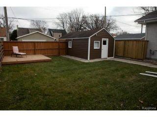 Photo 17: 98 Hill Street in WINNIPEG: St Boniface Residential for sale (South East Winnipeg)  : MLS®# 1427525