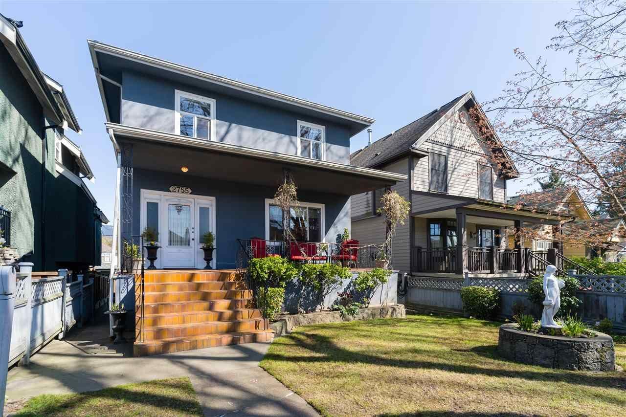 """Main Photo: 2755 ETON Street in Vancouver: Hastings Sunrise House for sale in """"HASTINGS SUNRISE"""" (Vancouver East)  : MLS®# R2568656"""