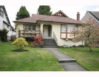 Photo 1: 6592 LIME Street in Vancouver West: Home for sale : MLS®# V709777