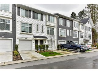 """Photo 1: 29 18681 68 Avenue in Surrey: Clayton Townhouse for sale in """"Creekside"""" (Cloverdale)  : MLS®# R2043550"""