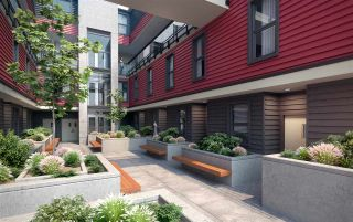 """Photo 4: 309 218 CARNARVON Street in New Westminster: Downtown NW Townhouse for sale in """"IRVING LIVING"""" : MLS®# R2208756"""