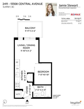 "Photo 19: 2411 13308 CENTRAL Avenue in Surrey: Whalley Condo for sale in ""Evolve"" (North Surrey)  : MLS®# R2448103"