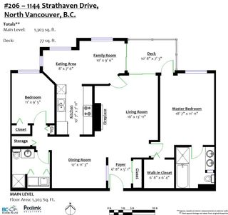 """Photo 20: 206 1144 STRATHAVEN Drive in North Vancouver: Northlands Condo for sale in """"Strathaven"""" : MLS®# R2331967"""