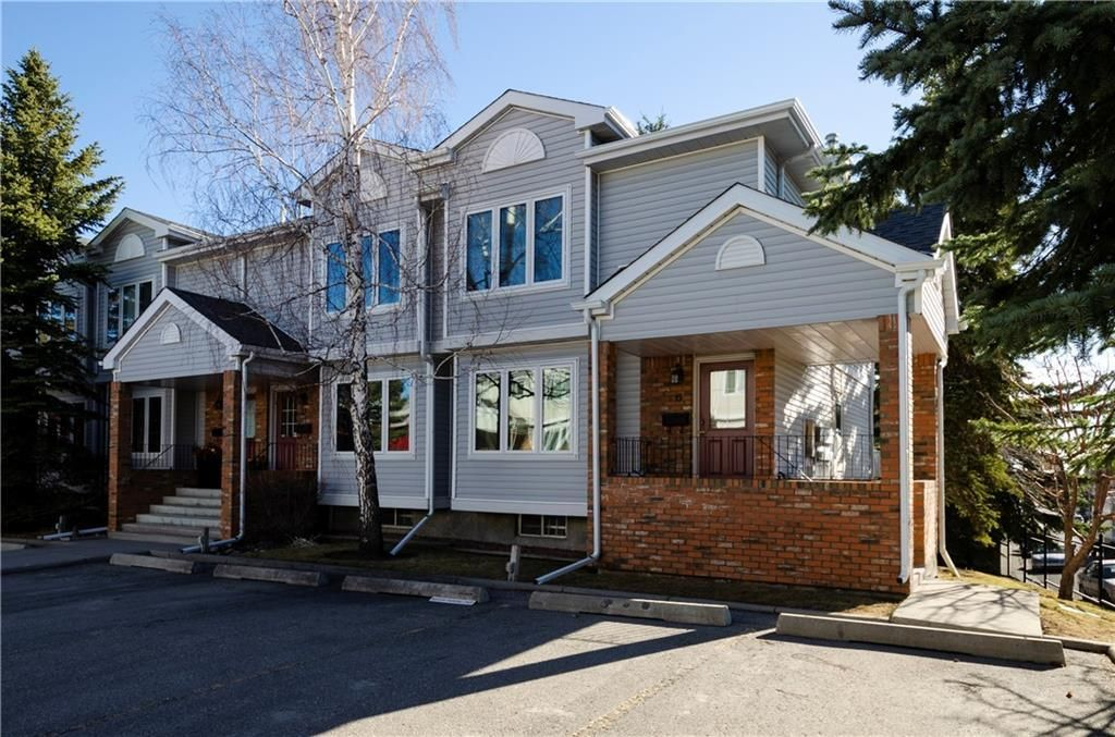 Main Photo: 6 3906 19 Avenue SW in Calgary: Glendale Row/Townhouse for sale : MLS®# C4236704
