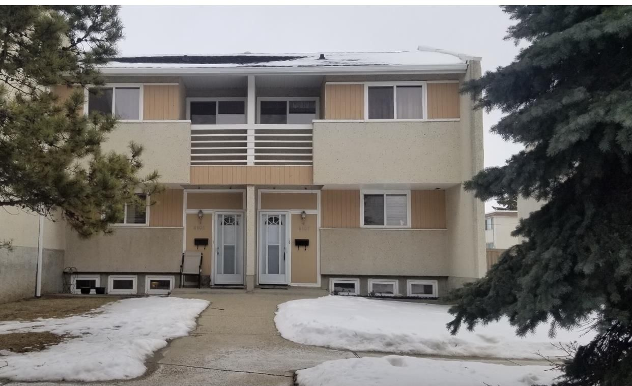 Main Photo: 8107 132A Avenue in Edmonton: Zone 02 Townhouse for sale : MLS®# E4229571