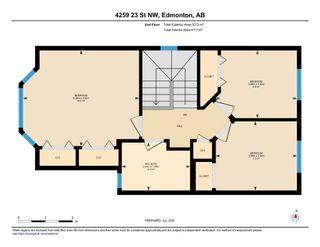 Photo 51: 4259 23St in Edmonton: Larkspur House for sale : MLS®# E4203591