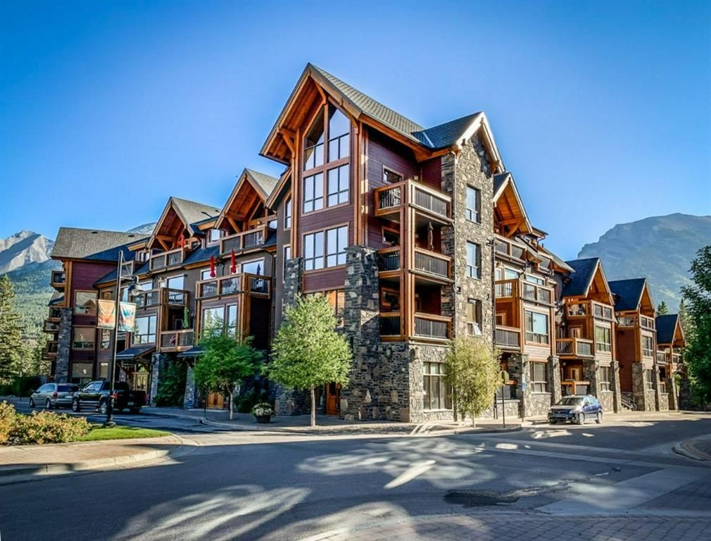 Main Photo: 103 600 Spring Creek Drive: Canmore Apartment for sale : MLS®# A1148085