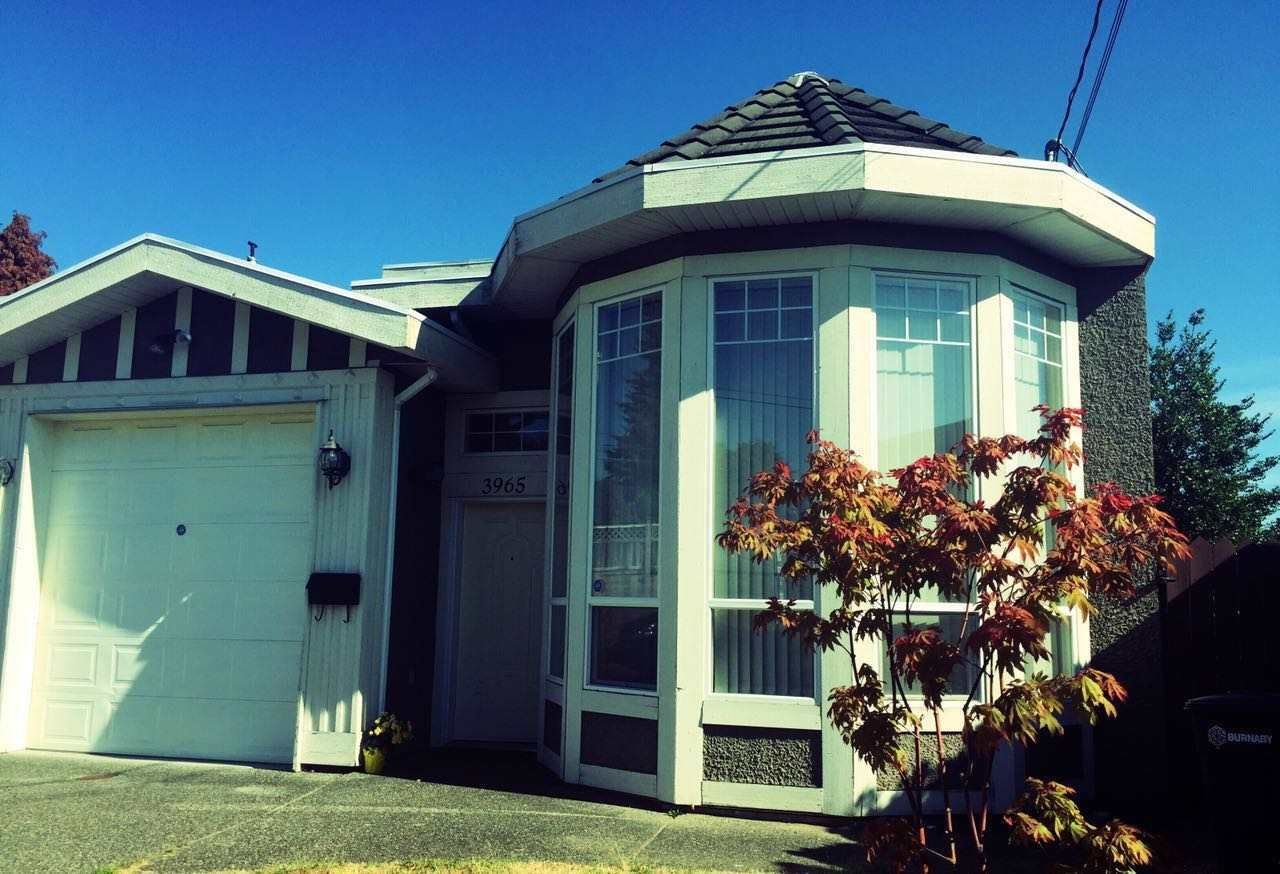 Main Photo: 3965 PRICE Street in Burnaby: Central Park BS 1/2 Duplex for sale (Burnaby South)  : MLS®# R2189673