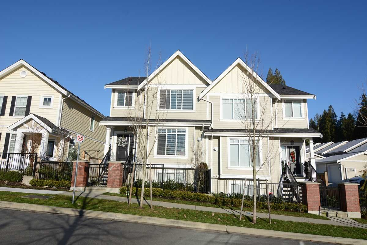 "Main Photo: 3377 DARWIN Avenue in Coquitlam: Burke Mountain 1/2 Duplex for sale in ""THE BRAE II"" : MLS®# R2022180"