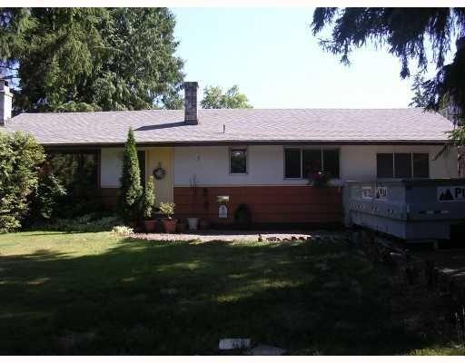 Main Photo: 1050 COMO LAKE AV in Coquitlam: House for sale : MLS®# V776122