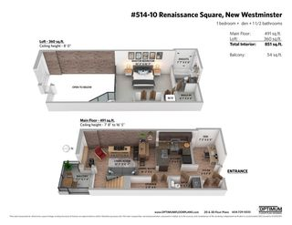 """Photo 27: 514 10 RENAISSANCE Square in New Westminster: Quay Condo for sale in """"MURANO LOFTS"""" : MLS®# R2468870"""