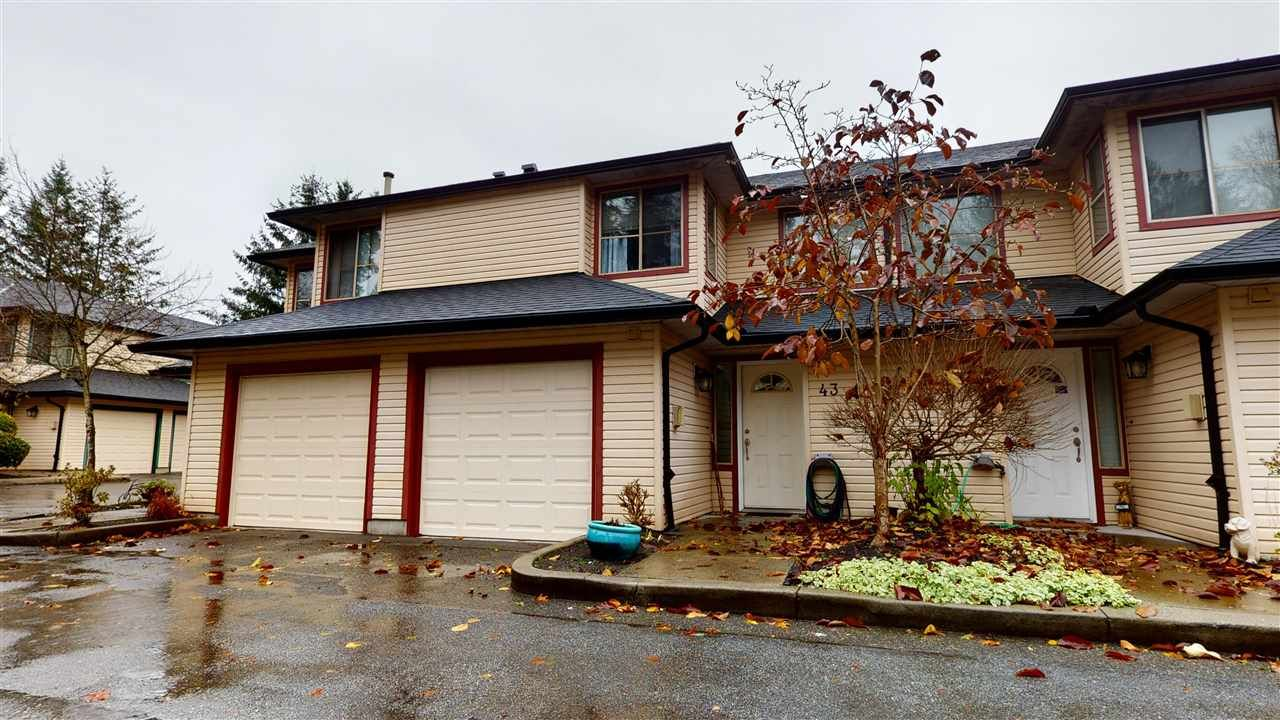 """Main Photo: 43 21960 RIVER Road in Maple Ridge: West Central Townhouse for sale in """"FOXBOROUGH HILLS"""" : MLS®# R2518701"""
