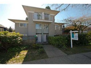 Photo 1: 1 1568 22ND Ave E in Vancouver East: Knight Home for sale ()  : MLS®# V997927