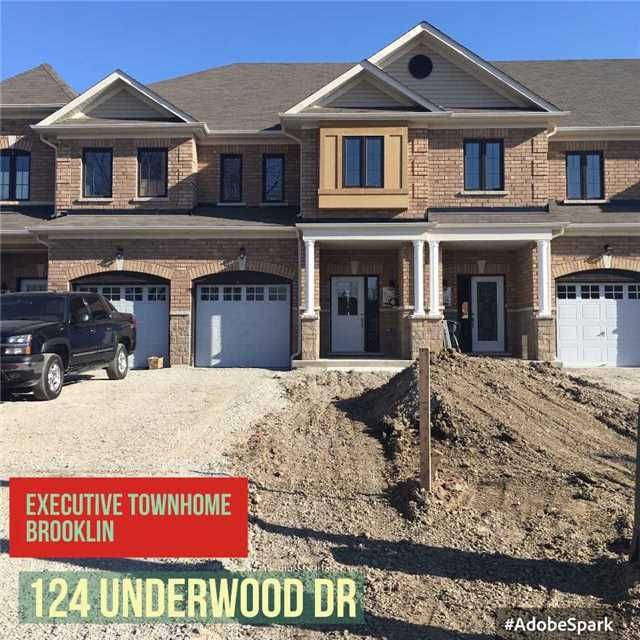 Main Photo: 124 Underwood Drive in Whitby: Brooklin House (2-Storey) for lease : MLS®# E3678897