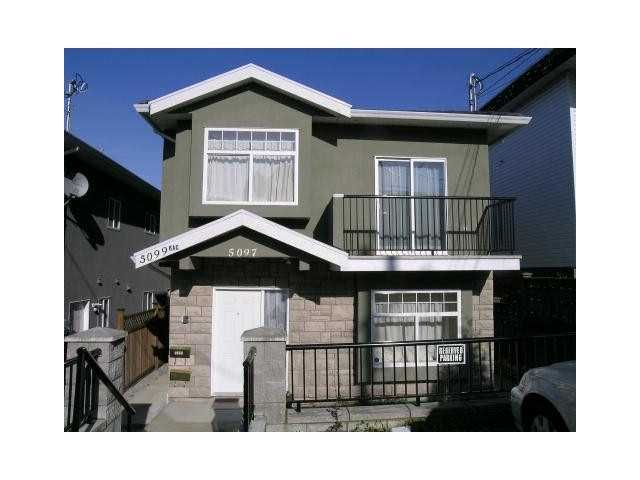Main Photo: 5097 DOMINION Street in Burnaby: Central BN 1/2 Duplex for sale (Burnaby North)  : MLS®# V930054
