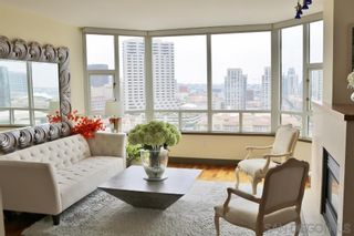 Photo 2: DOWNTOWN Condo for rent : 2 bedrooms : 700 W Harbor Dr #1802 in San Diego