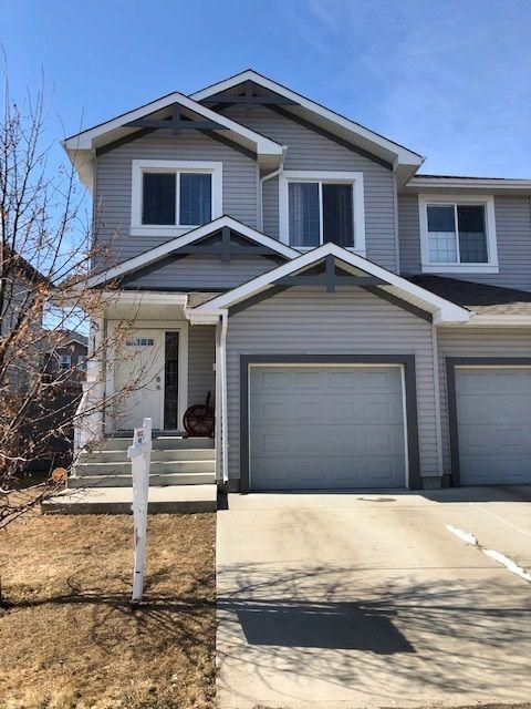 Main Photo: 23 Caragana Way: Fort Saskatchewan House Half Duplex for sale : MLS®# E4235911