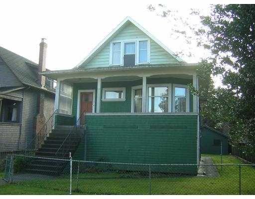 Main Photo: 2024 YORK AV in : Kitsilano House for sale : MLS®# V628228