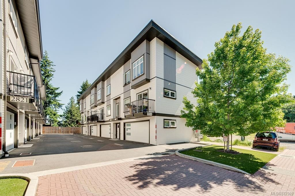 Main Photo: 102 894 Hockley Ave in : La Jacklin Row/Townhouse for sale (Langford)  : MLS®# 877509