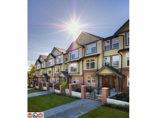 Main Photo: # 29 15788 104TH AV in Surrey: Guildford Condo for sale (North Surrey)  : MLS®# F1325742