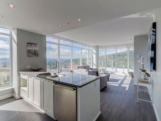 """Photo 2: 2602 520 COMO LAKE Avenue in Coquitlam: Coquitlam West Condo for sale in """"THE CROWN"""" : MLS®# R2342007"""