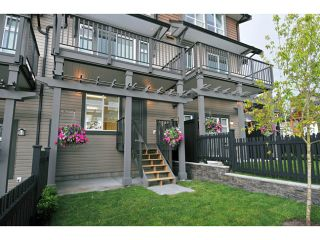 """Photo 2: 124 1480 SOUTHVIEW Street in Coquitlam: Burke Mountain Townhouse for sale in """"CEDAR CREEK"""" : MLS®# V1031667"""