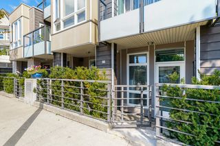 """Photo 1: 116 85 EIGHTH Avenue in New Westminster: GlenBrooke North Townhouse for sale in """"Eight West"""" : MLS®# R2617347"""