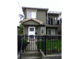 Photo 1: 1843 E 12TH Avenue in Vancouver: Grandview VE 1/2 Duplex for sale (Vancouver East)  : MLS®# V946824