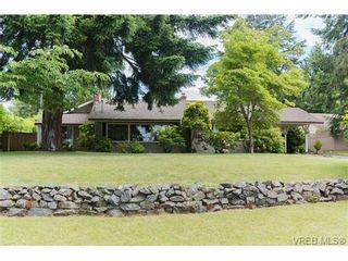 Photo 1: 4527 Duart Rd in VICTORIA: SE Gordon Head House for sale (Saanich East)  : MLS®# 674147
