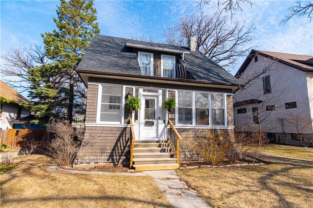 Main Photo: 271 Balfour Avenue in Winnipeg: Riverview Residential for sale (1A)  : MLS®# 202109446