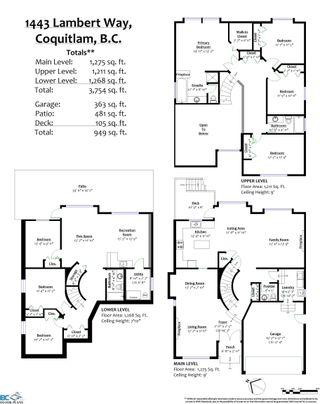 "Photo 19: 1443 LAMBERT Way in Coquitlam: Hockaday House for sale in ""HOCKADAY"" : MLS®# R2624143"