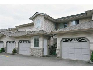 """Photo 1: 4 19060 FORD Road in Pitt Meadows: Central Meadows Townhouse for sale in """"REGENCY COURT"""" : MLS®# V935497"""
