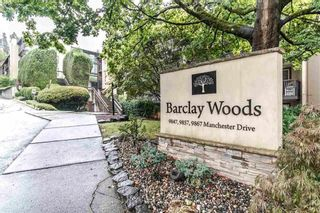 Photo 1: 409 9847 MANCHESTER DRIVE in Burnaby: Cariboo Condo for sale (Burnaby North)  : MLS®# R2417058