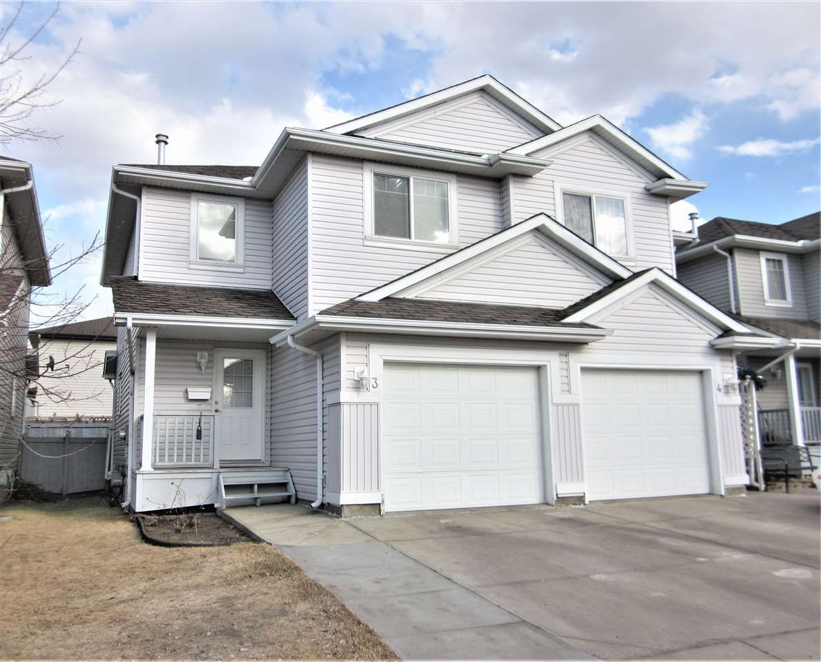 Main Photo: 3 13403 CUMBERLAND Road in Edmonton: Zone 27 House Half Duplex for sale : MLS®# E4235897