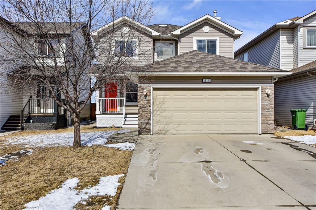 Main Photo: 514 STONEGATE RD NW: Airdrie RES for sale : MLS®# C4292797