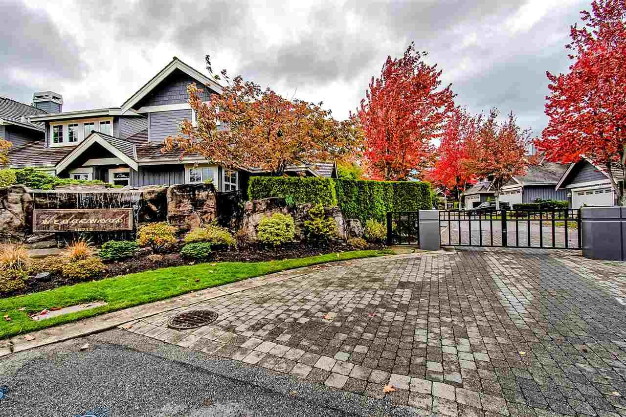 """Main Photo: 71 15715 34 Avenue in Surrey: Morgan Creek Townhouse for sale in """"WEDGEWOOD"""" (South Surrey White Rock)  : MLS®# R2430855"""