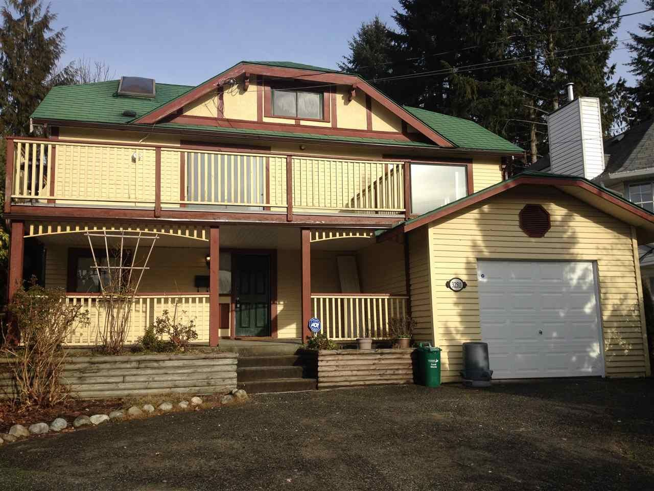 Main Photo: 32511 MCRAE AVENUE in Mission: Mission BC House for sale : MLS®# R2026564