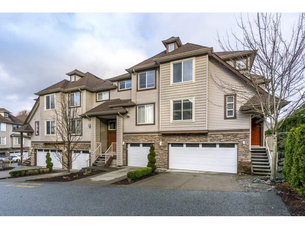 """Main Photo: 21 46778 HUDSON Road in Sardis: Promontory Townhouse for sale in """"COBBLESTONE TERRACE"""" : MLS®# R2235852"""