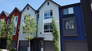 "Photo 1: 53 2310 RANGER Lane in Port Coquitlam: Riverwood Townhouse for sale in ""FREMONT BLUE"" : MLS®# R2087108"